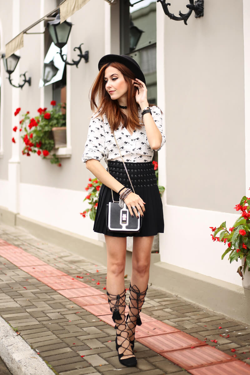 what shoes to wear with skirts (11)