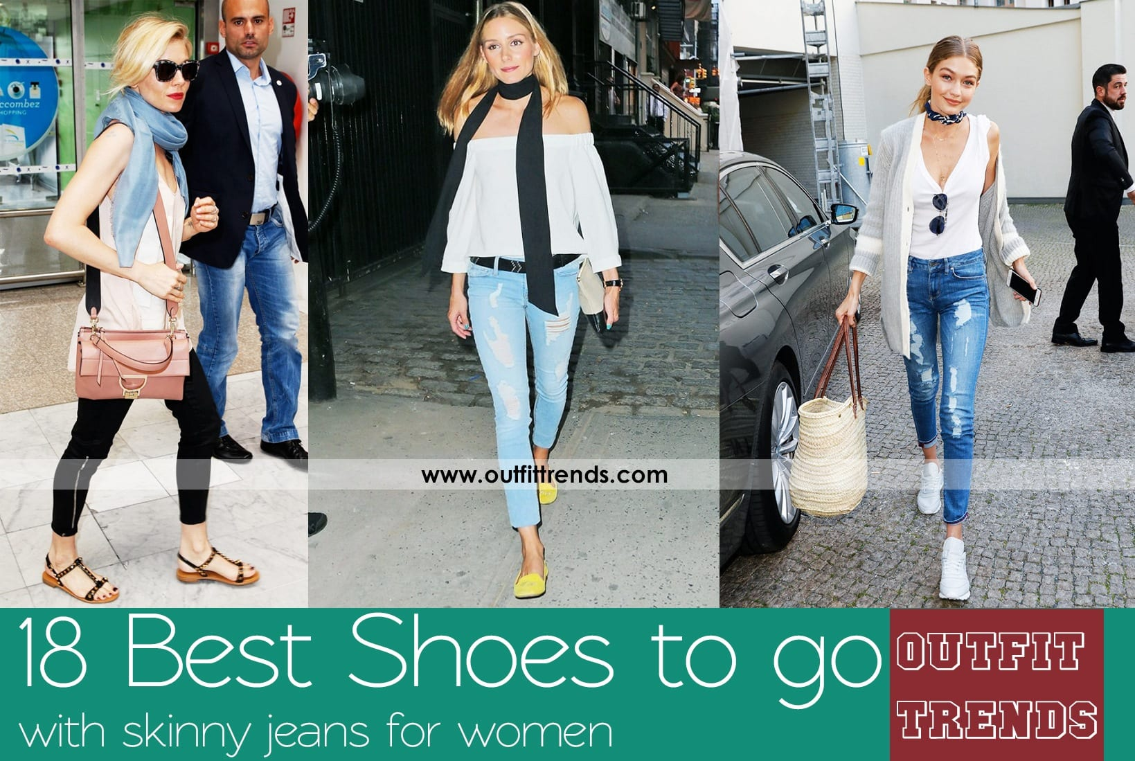 Shoes With Skinny Jeans Women-18 Perfect Outfit Combinations