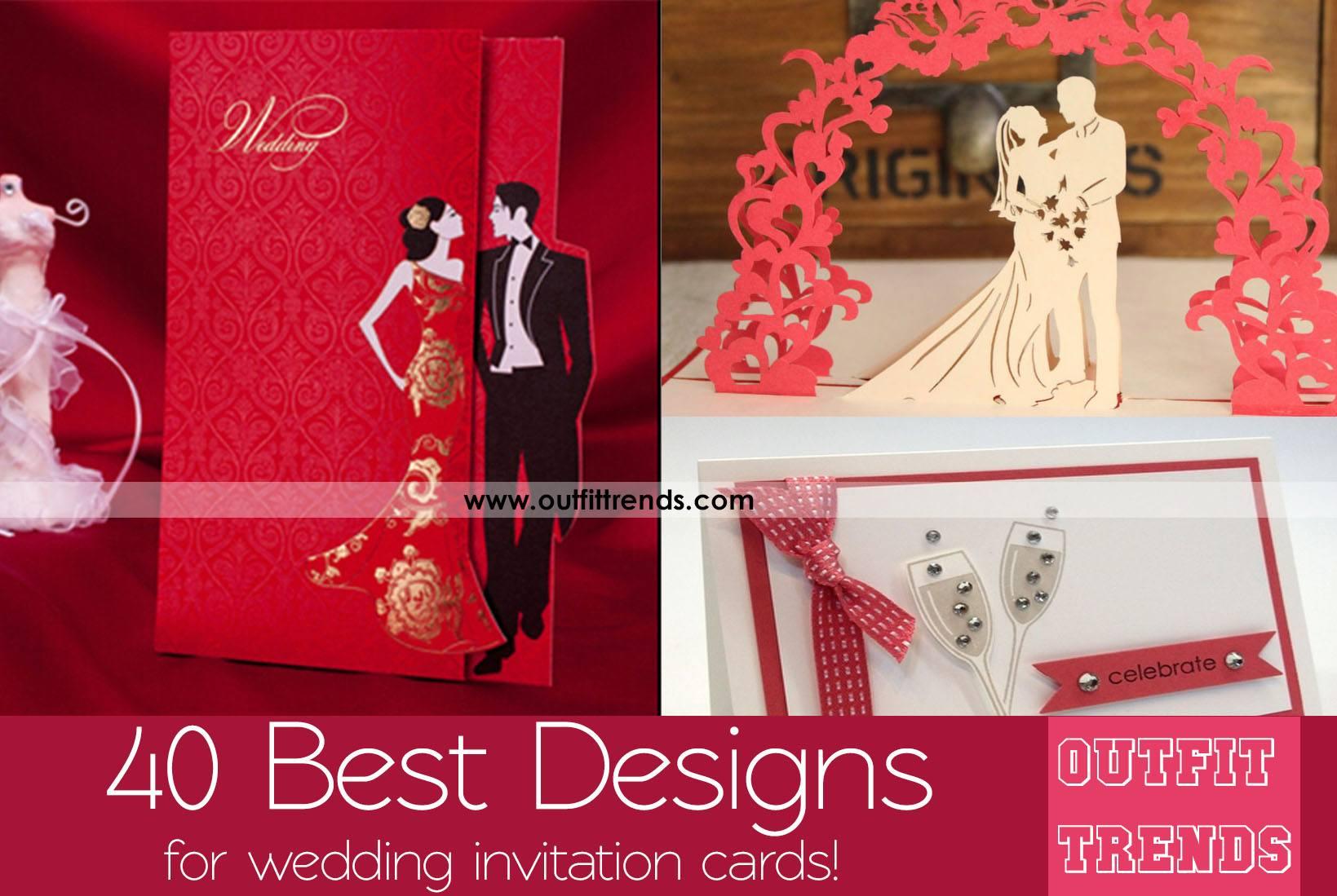 40 Best Wedding Invitation Cards And Creativity Ideas
