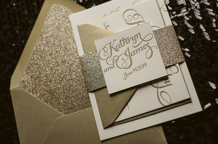 Gifts Using Wedding Invitation: 40 Most Elegant Ideas For Wedding Invitation Cards And