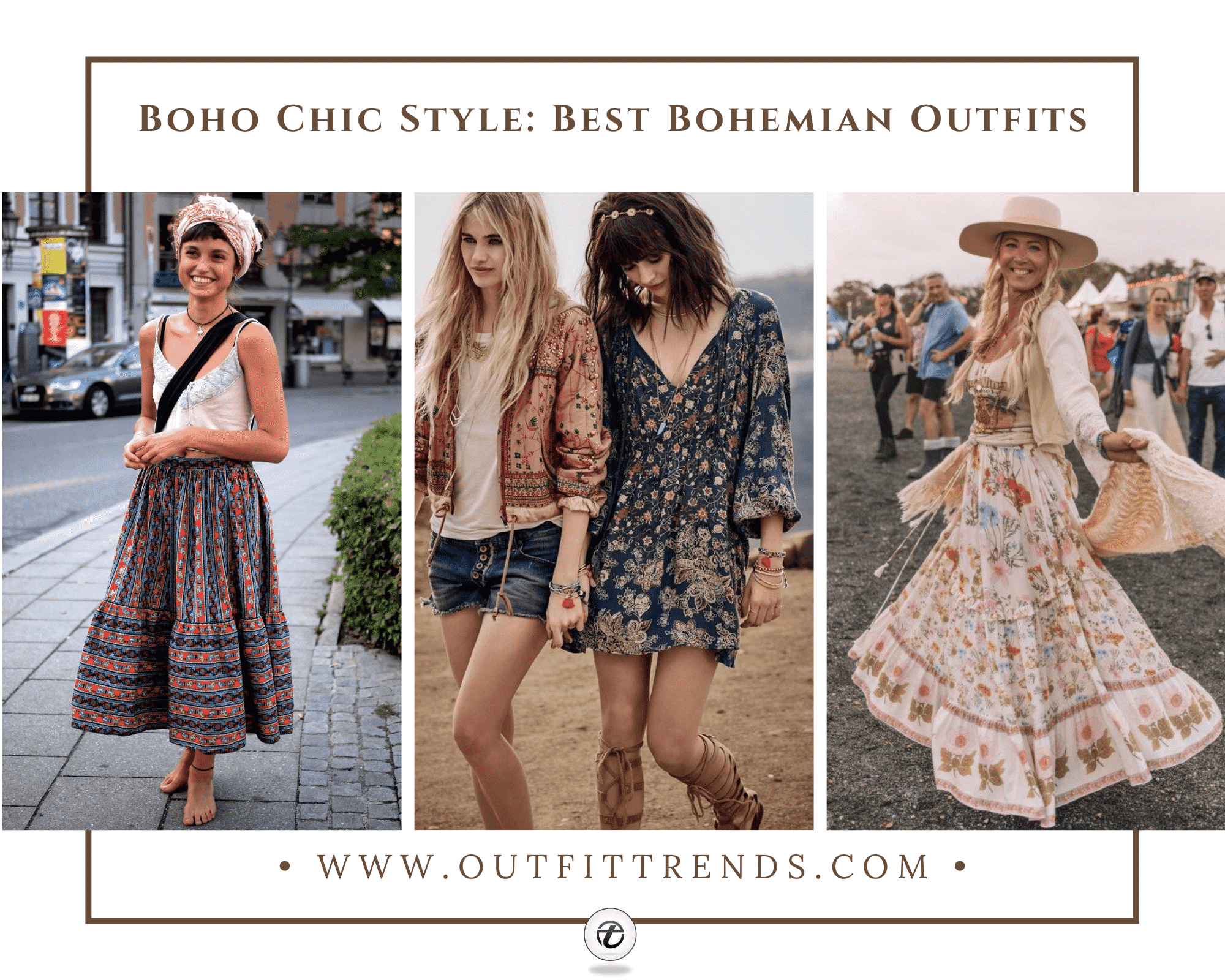 Boho Chic Style 55 Bohemian Outfits To Wear This Year