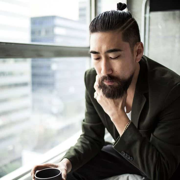 Some Asian beard looks, all men should try (9)