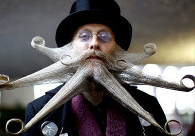 funny beard styles 20 weirdest and unique facial hair looks ever. Black Bedroom Furniture Sets. Home Design Ideas
