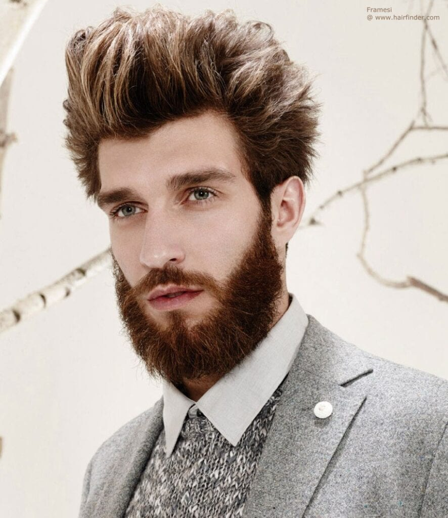 how to get beard to grow down