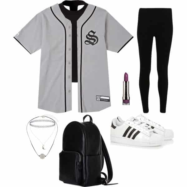 cool ways to wear outfits with adidas shoes (1)