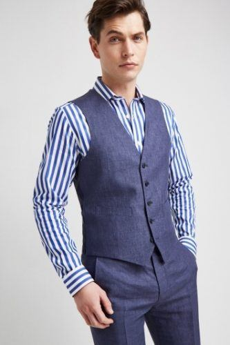 Waistcoat outfit for men