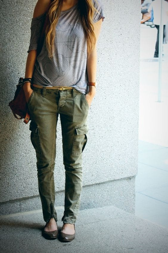 Cargo pants outfits for women (3)