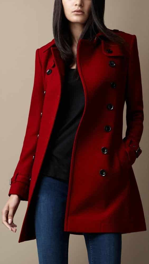 Trench Coat Outfits Women-19 Ways to Wear Trench Coats this Winter (19)
