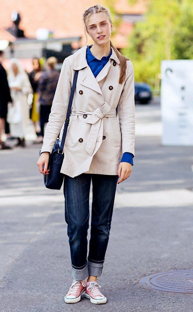Trench Coat Outfits Women-19 Ways to Wear Trench Coats this Winter (17)