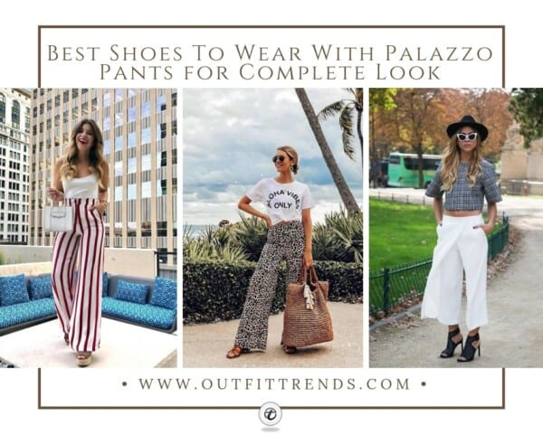 Stylish Shoes with Palazzo Pants (1)
