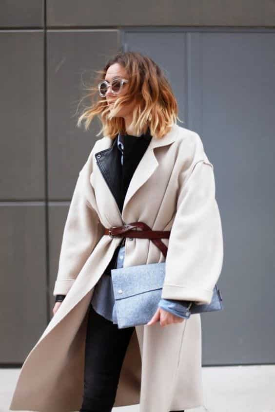 Trench Coat Outfits Women-19 Ways to Wear Trench Coats this Winter (20)