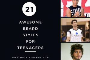 beard styles for teens
