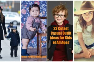 casual outfit ideas for children