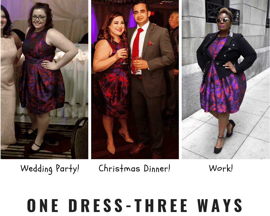 christmas outfit for plus size women