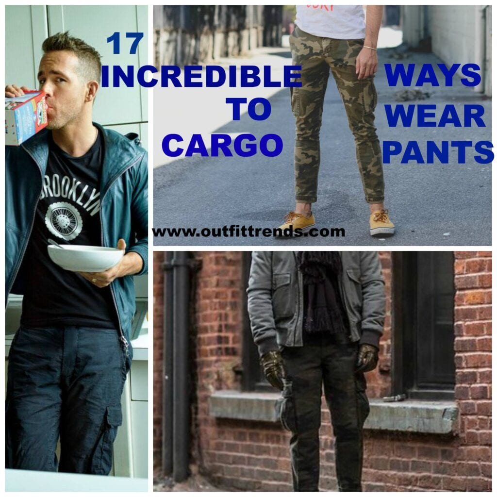 72eb964da Cargo Pants Outfits for Men - 17 Ways to Wear Cargo Pants