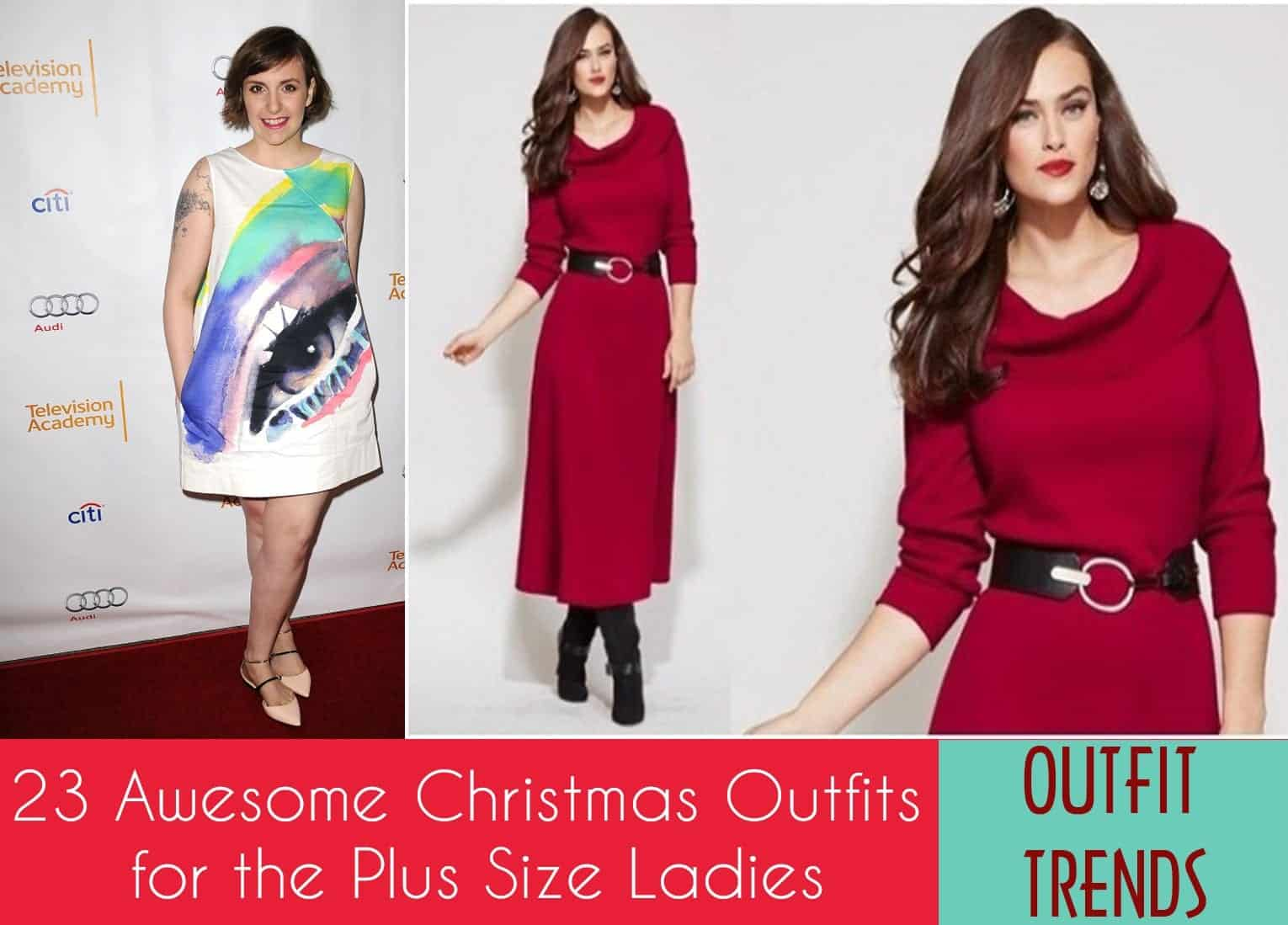 2018 christmas outfit ideas for curvy women