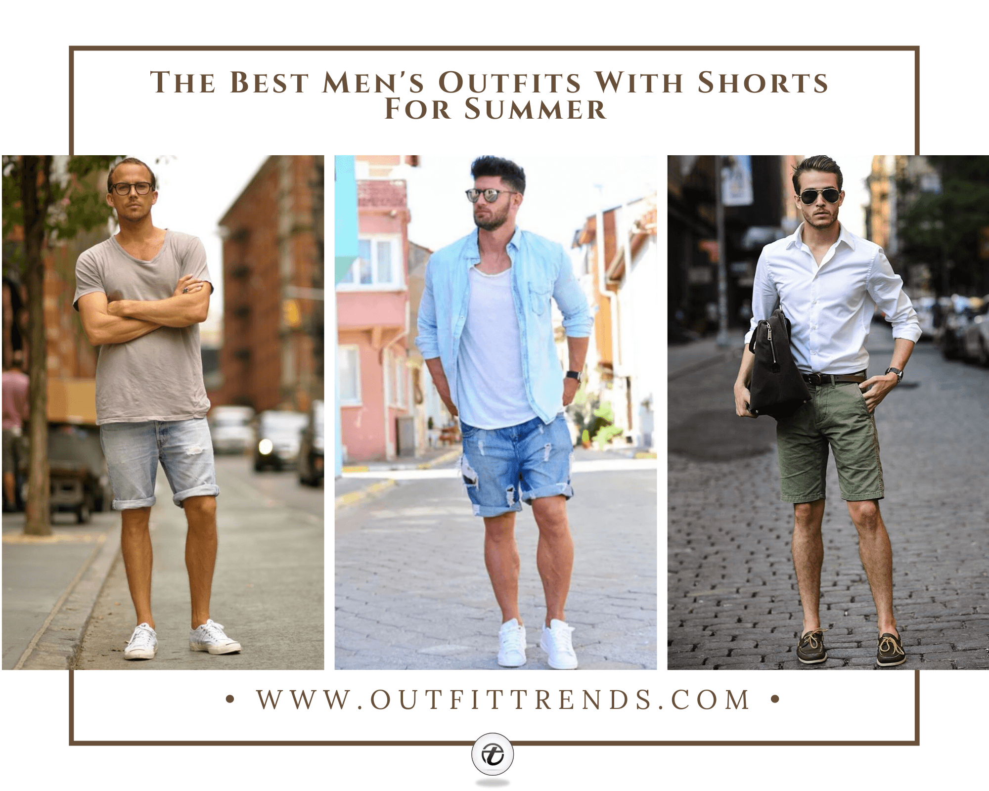 23 Stylish Men's Outfits with Shorts For Summer 2021