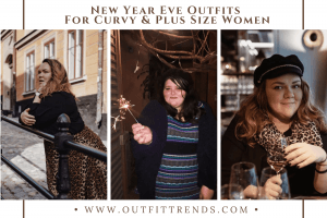 plus size women new year outfits