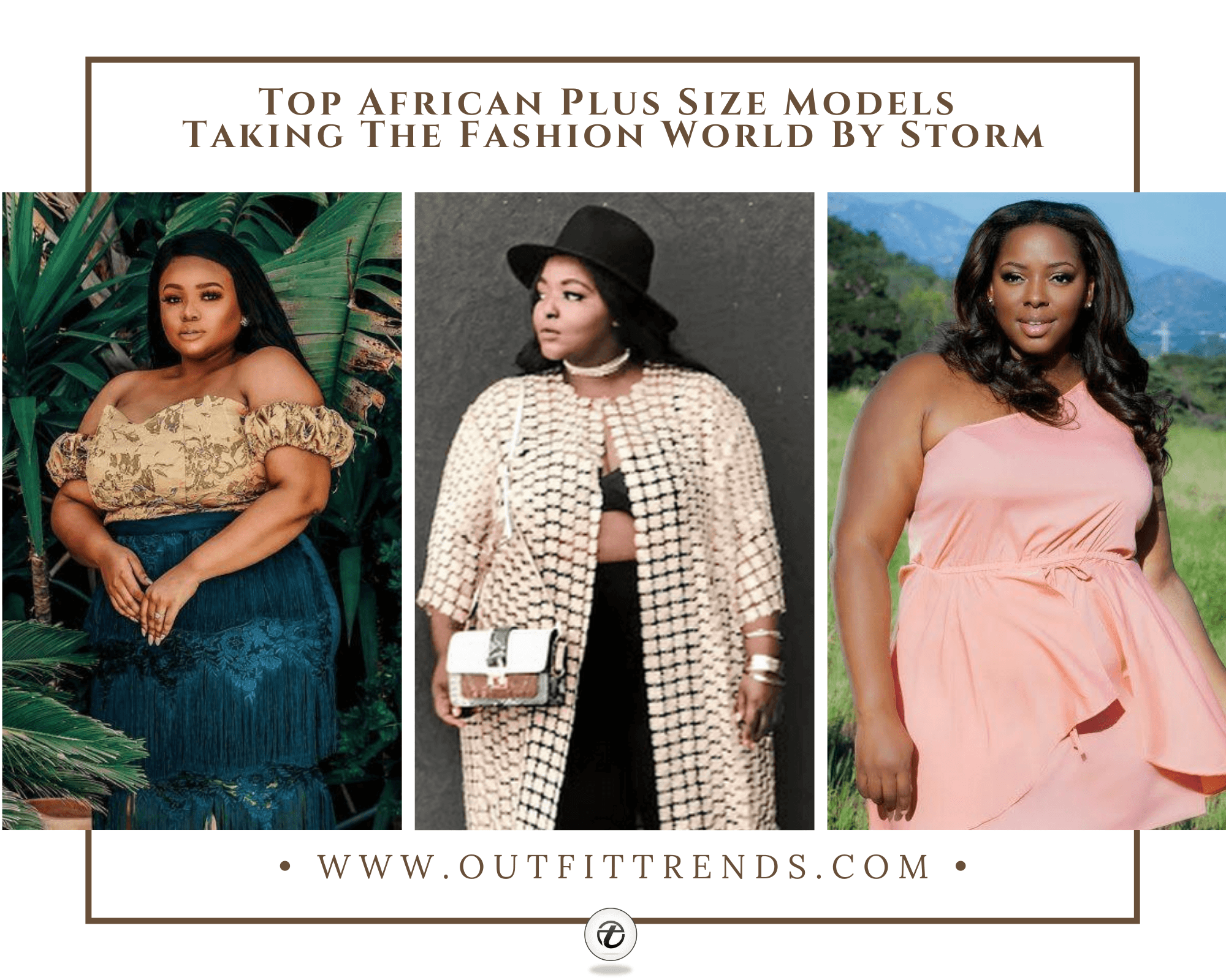 African Curvy Women15 Fashionable African Plus Size Models