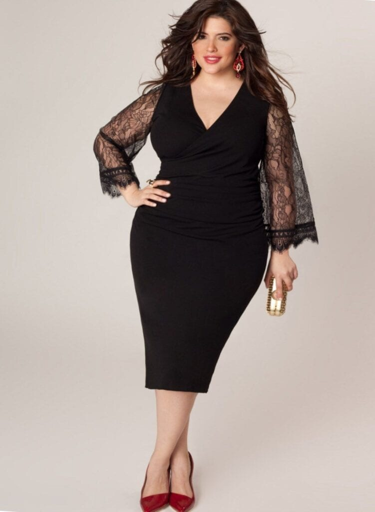 2018 Christmas Outfits for Plus size women
