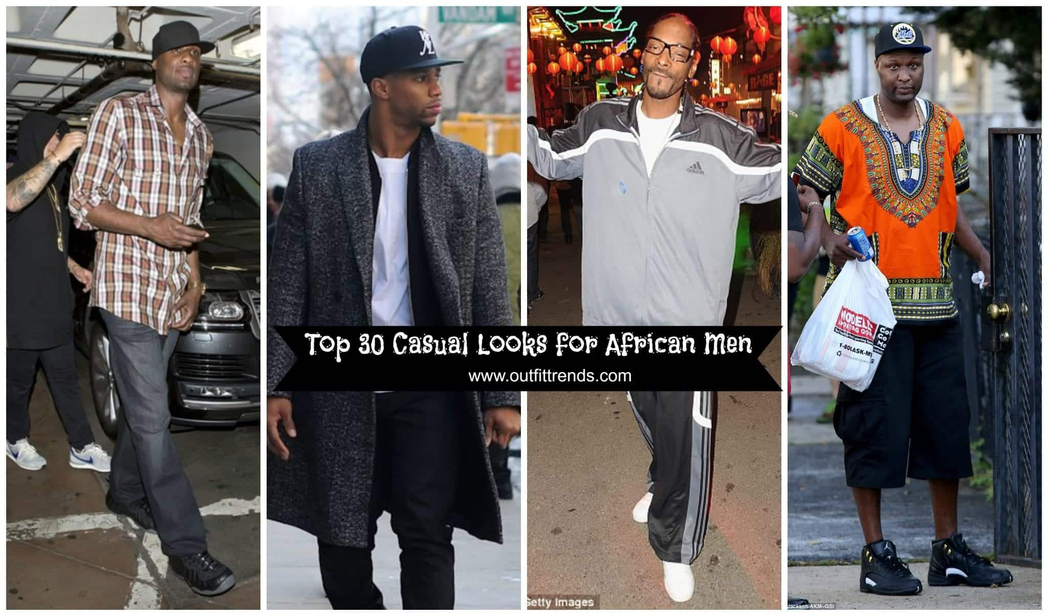 91ad704d8aee 30 Casual Outfits Ideas For Black Men - African Men Fashion