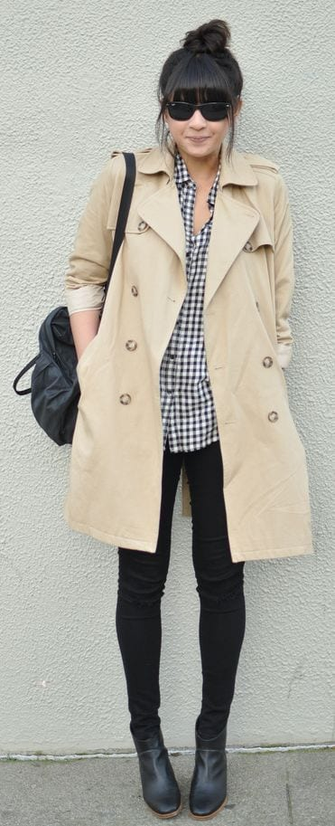 Trench Coat Outfits Women-19 Ways to Wear Trench Coats this Winter (8)