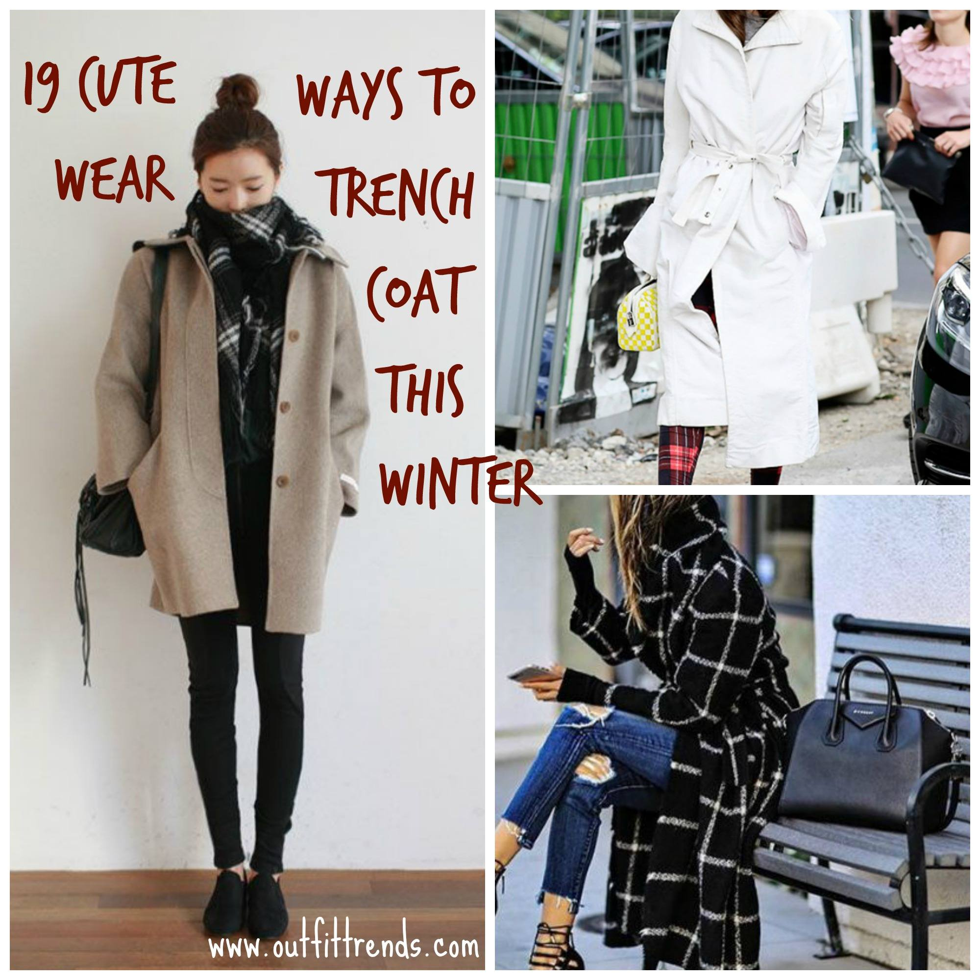 Watch 7 Ways To Wear a Trench Coat ThisSpring video