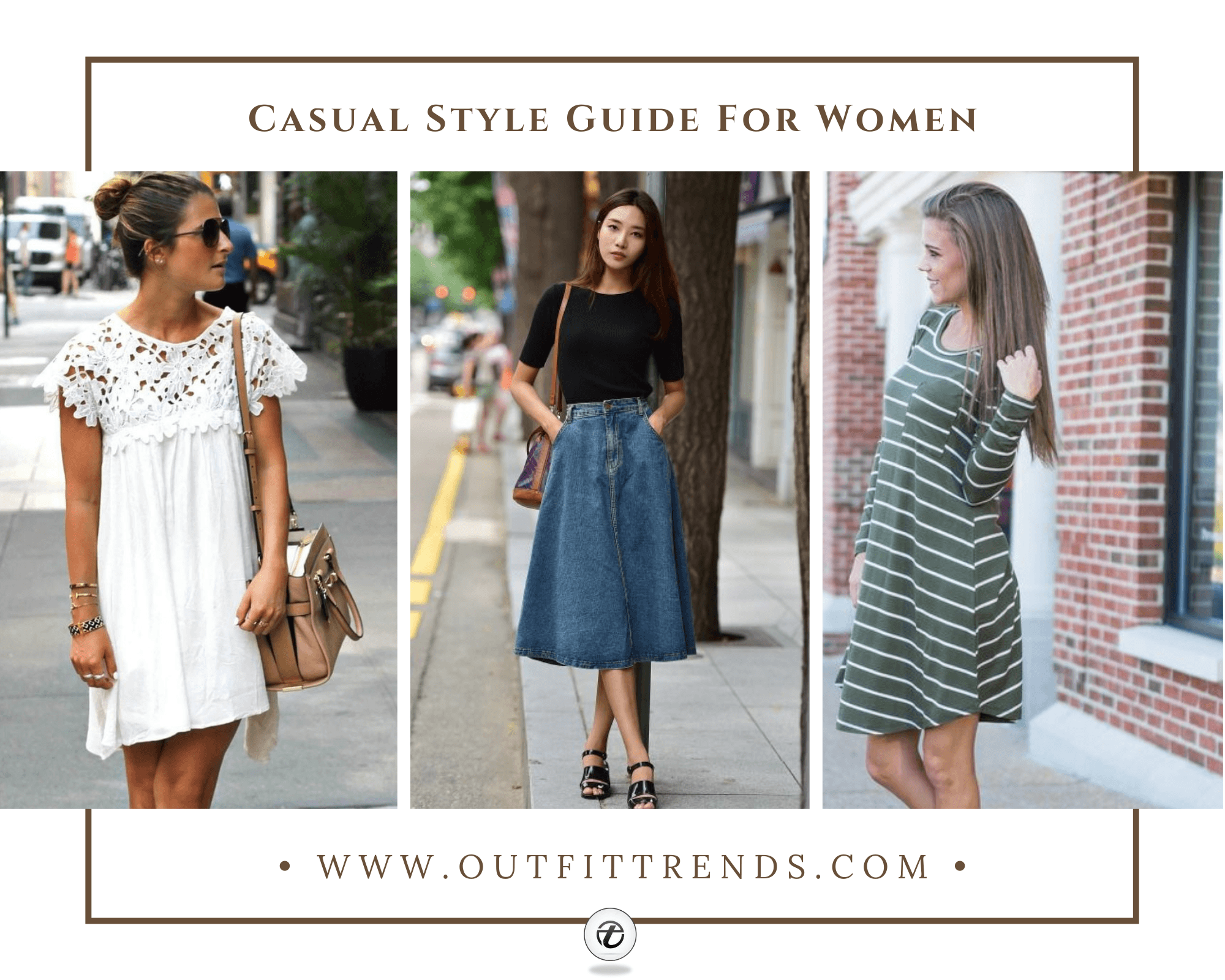 Casual Outfits for Women | 26 Cutest Dresses for Casual Look