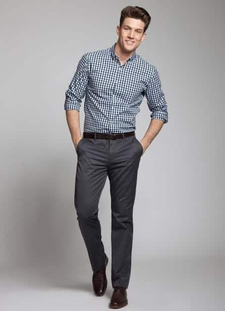 fb5c07ab095d Slacks are the perfect bottoms for semi-formal wear as they re more formal  than your jeans or denims and less formal than your pants.