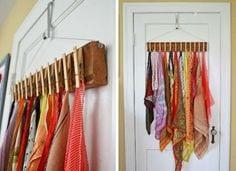 DIY Cloth Peg Holder for Hijab