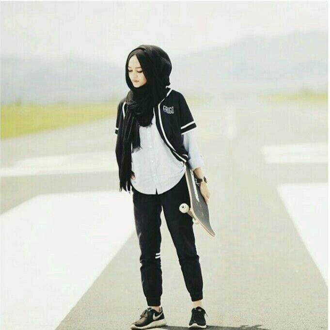gym wear with hijab