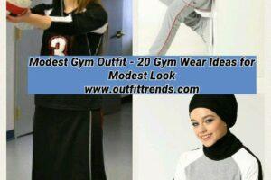 modest gym wear