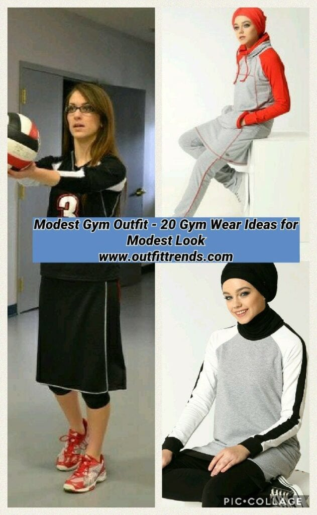modest gym wear