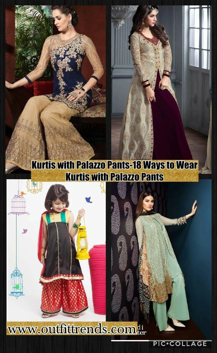 36bc4e5b4094c Kurtis With Palazzo Pants-18 Ways to Wear Palazzo with Kurtis