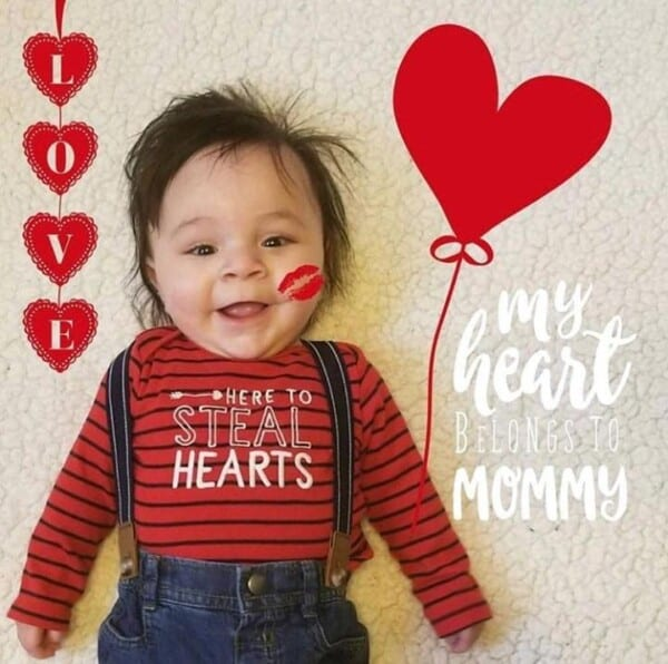 5bda539c6 20 Cute Valentine's Day Outfits For Toddlers/Babies This Year