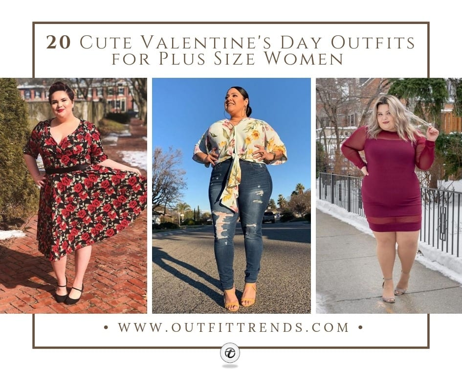 6fc9834ce56e5 20 Cute Valentine's Day Outfits for Plus Size Women 2019