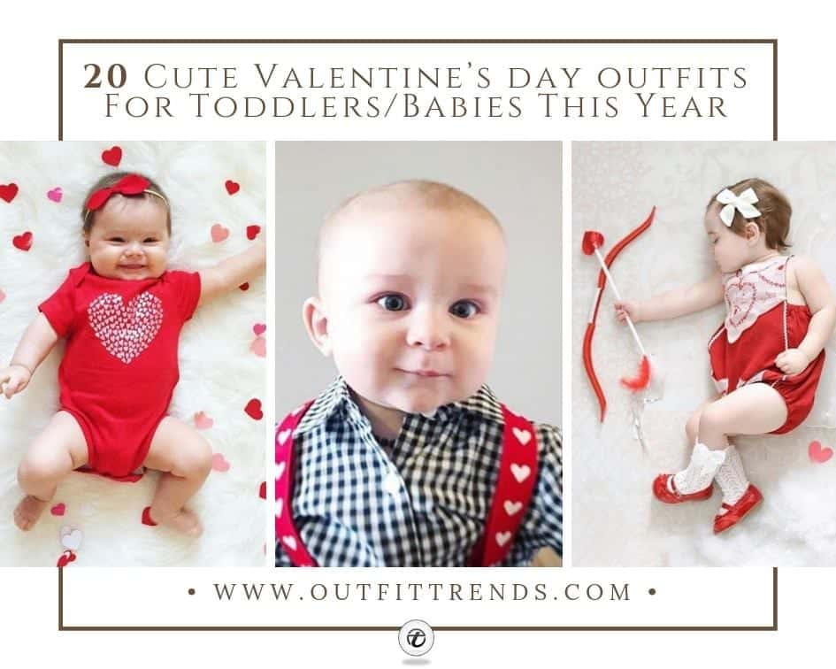 4ee9005bc 20 Cute Valentine's Day Outfits For Toddlers/Babies This Year