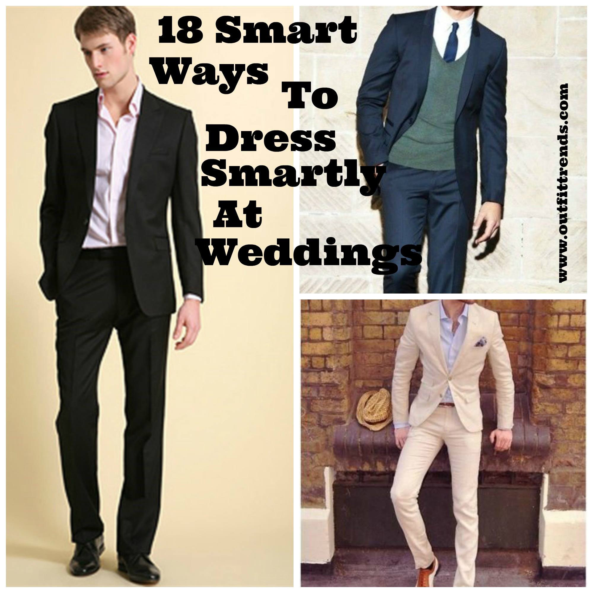 What Should Men Wear When Attending A Wedding