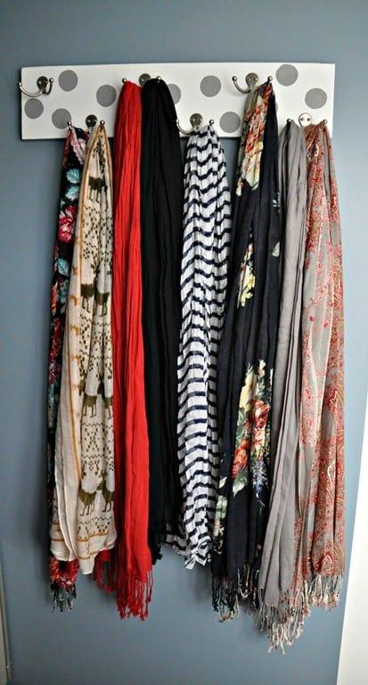 DIY Scarf or Hijab Hanger