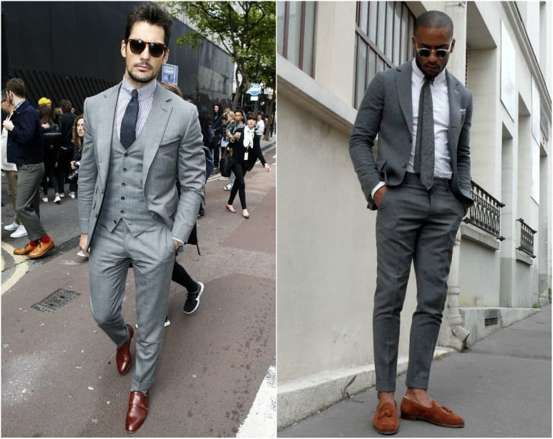 3ad8f1c737 However grey on grey can be Classic and smart for daytime wear. You might  even choose to not wear the tie and jacket