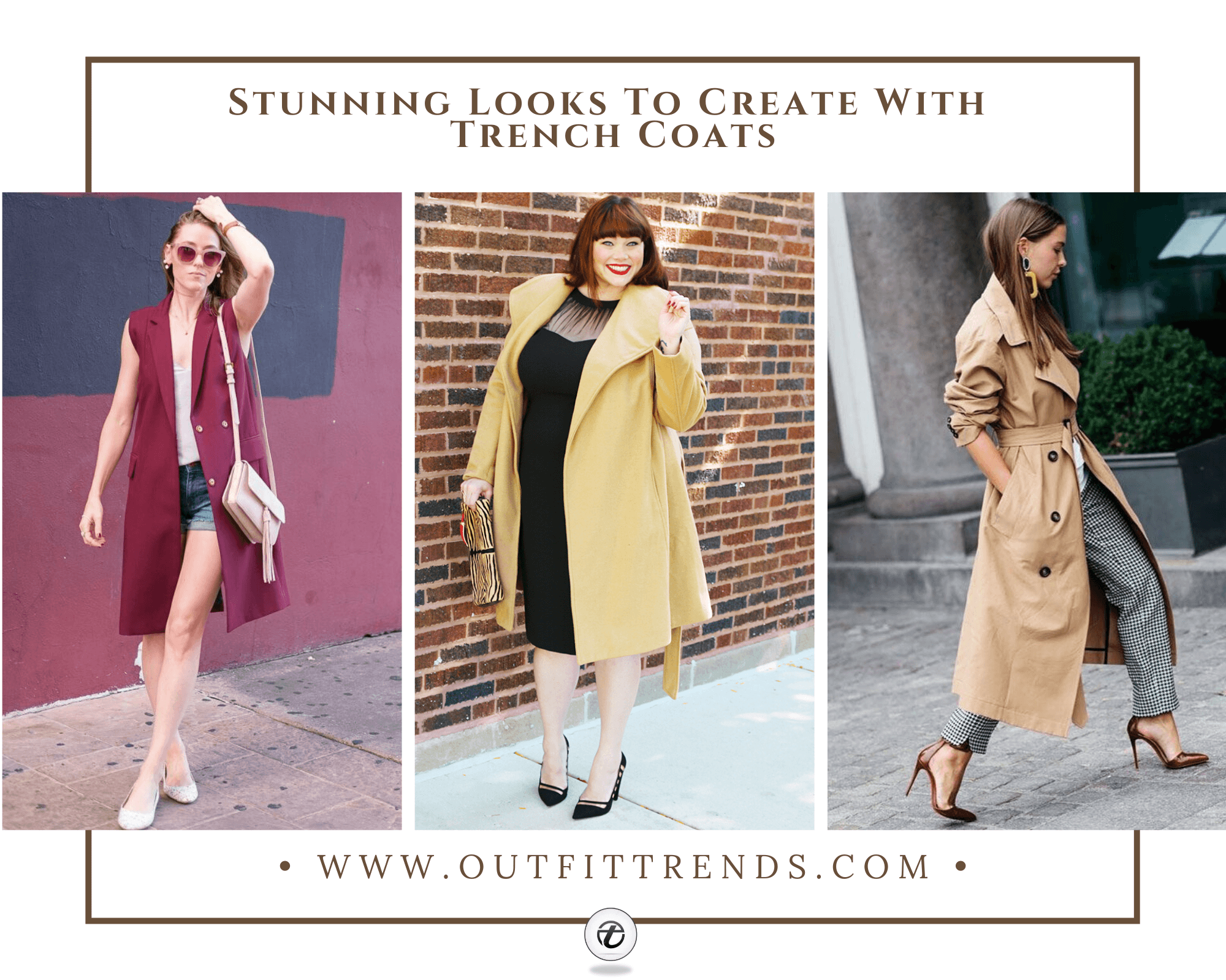 Trench Coat Outfits-25 Ways To Wear Trench Coats This Winter
