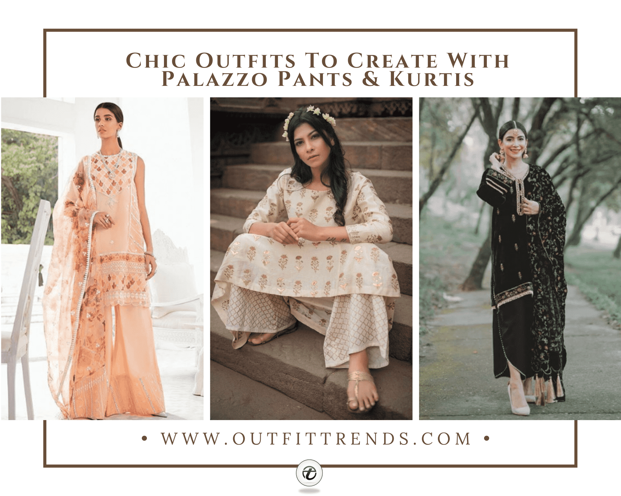 Kurtis With Palazzo Pants 27 Ways to Wear Palazzo Kurtis