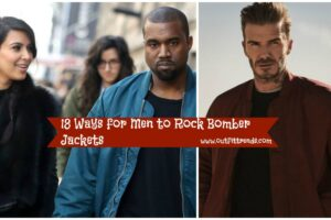 how to wear men bomber jackets