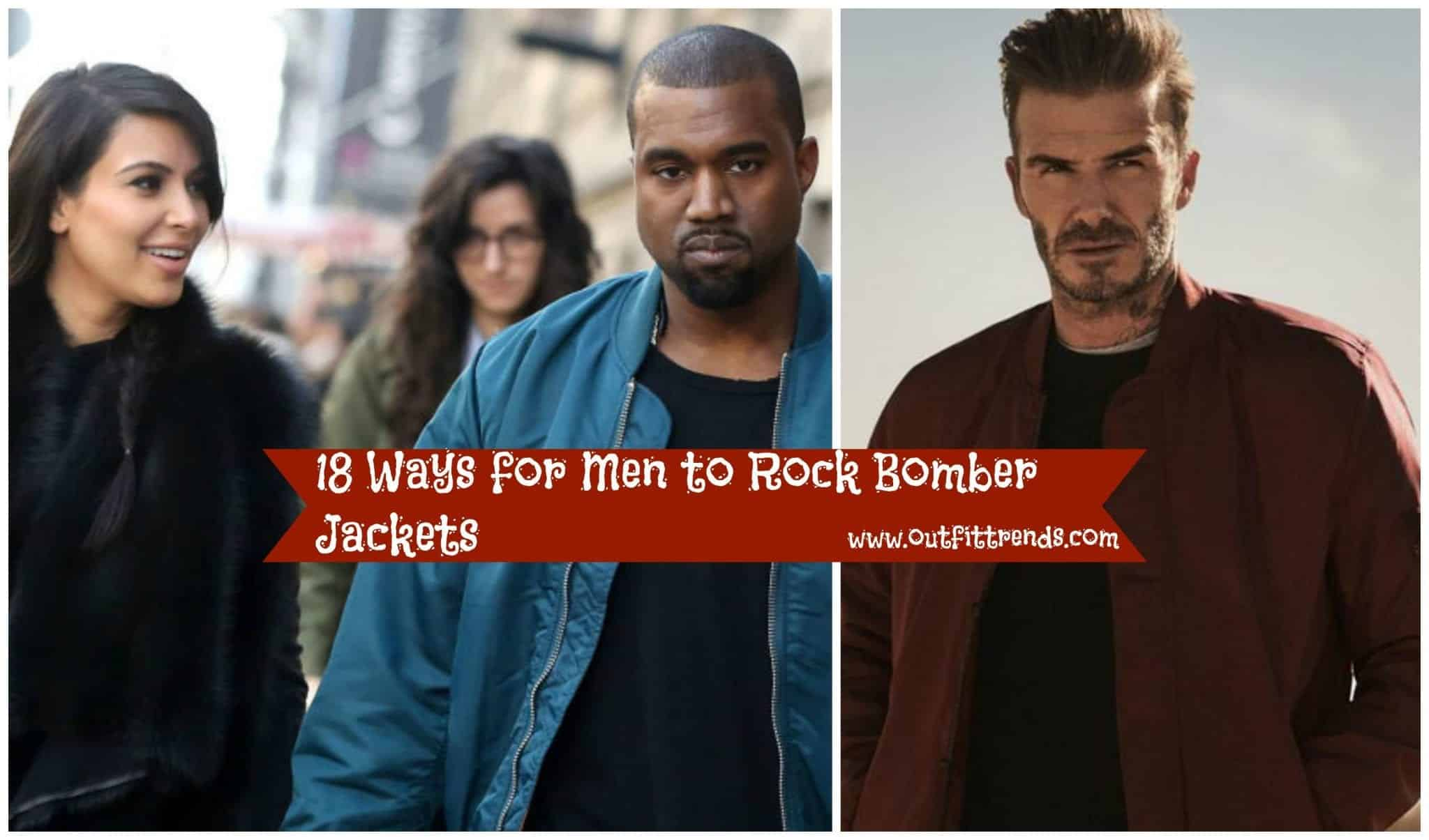 4e1ccd8d5 How to Wear Bomber Jacket Men-18 Outfits with Bomber Jackets