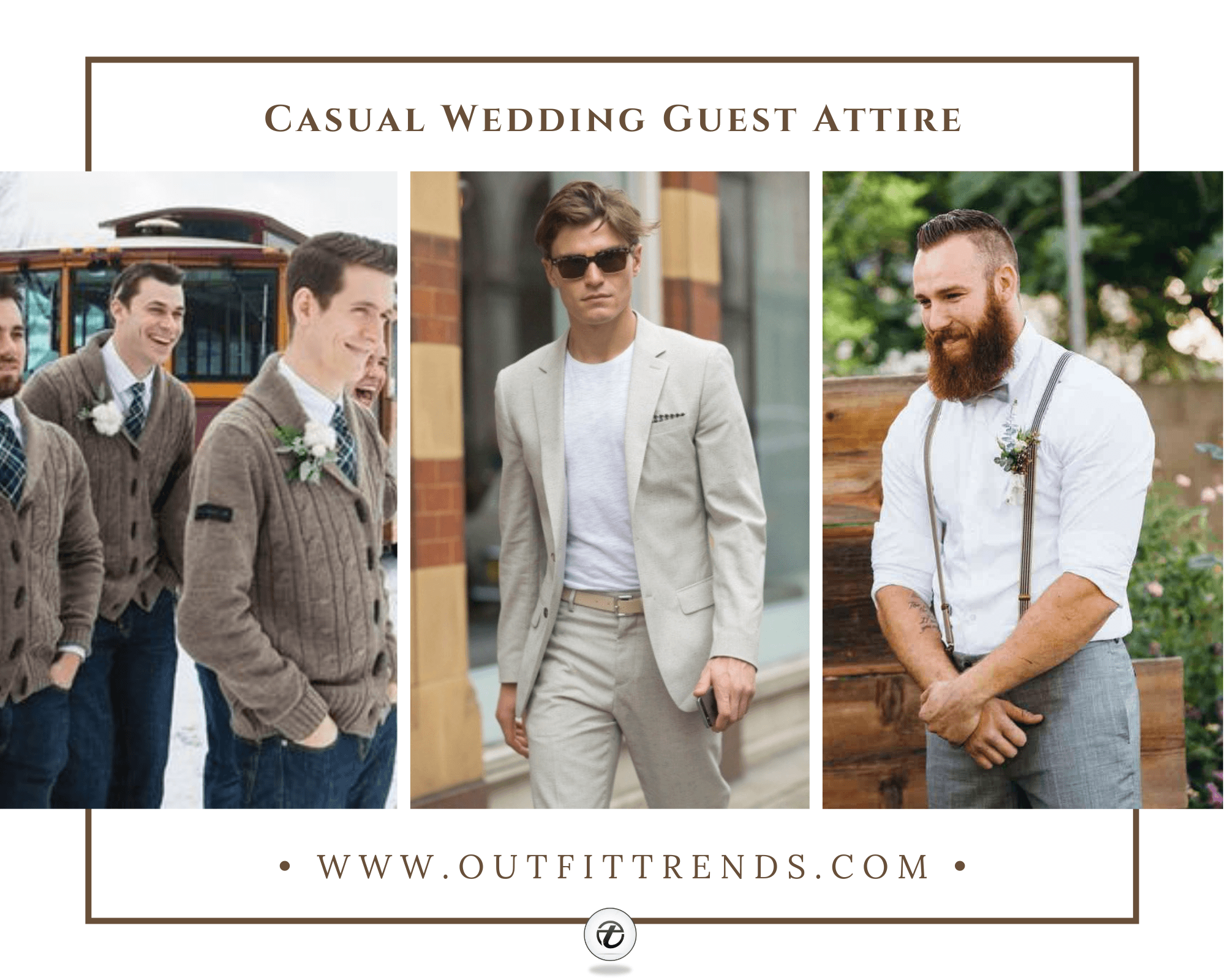 Casual Wedding Guest Attire For Men | 25 Outfits & Tips