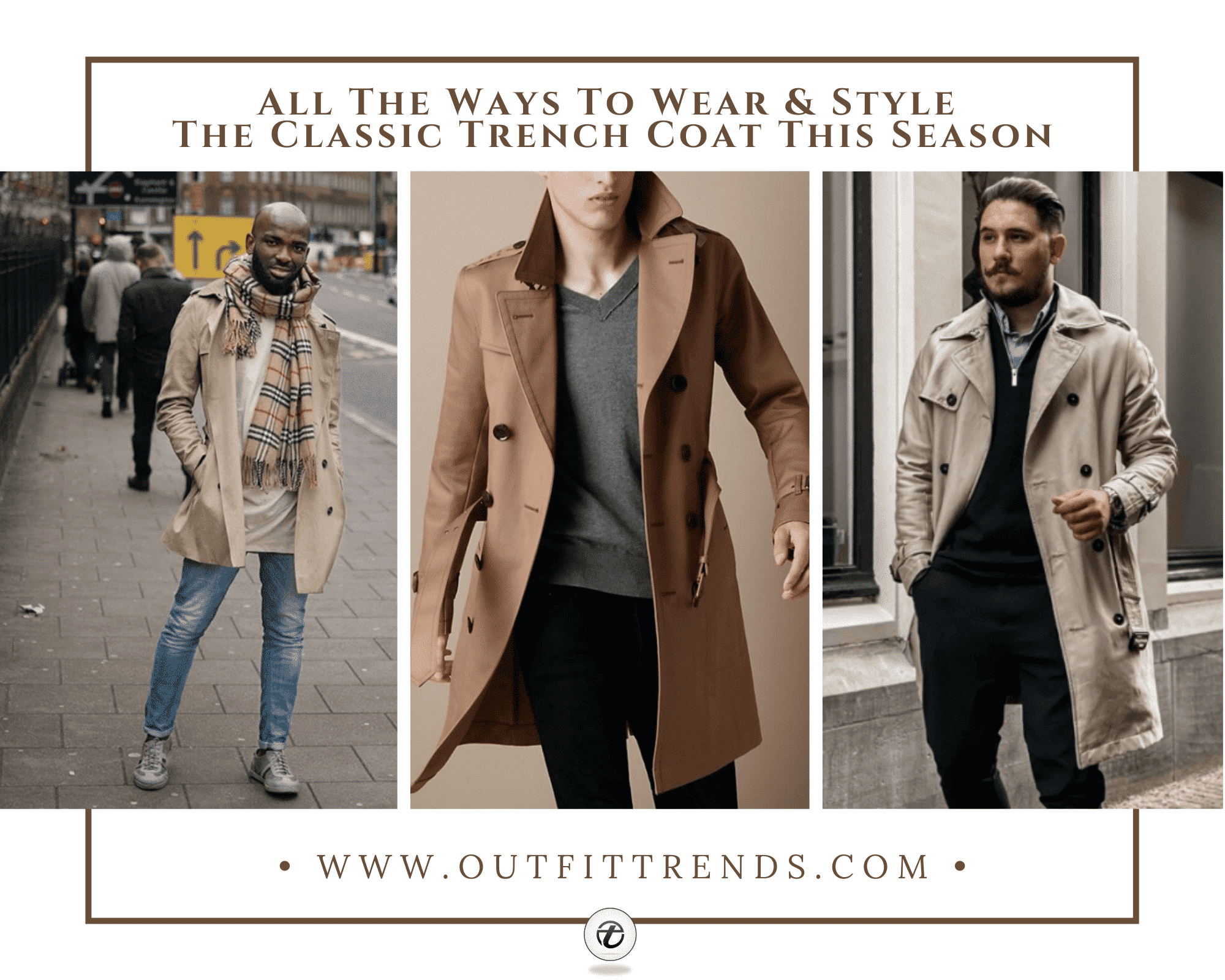 Mens Trench Coat Outfits   36 Ways to Rock Trench Coats