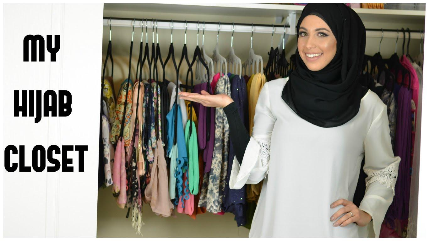 12 Great Ideas for Organizing Hijab for Every Day Routines
