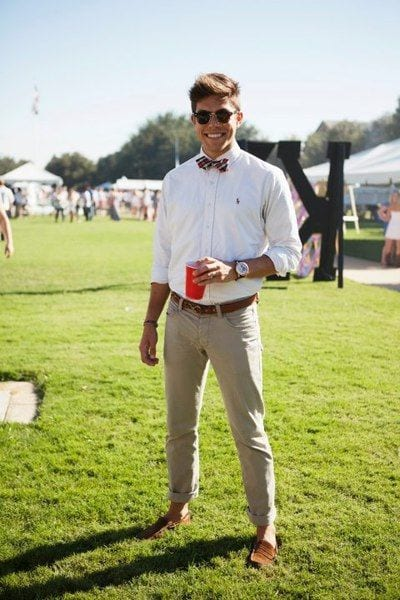d7e6e3b0e06b ... light toned shirt and trousers along loafers and a colorful bow to rock  the entire look. Here s How to Make Bow Tie and 16 Cool Ideas to Wear Bow  Tie