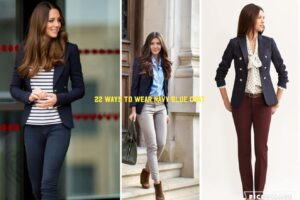 How to Wear Navy Blue Coat