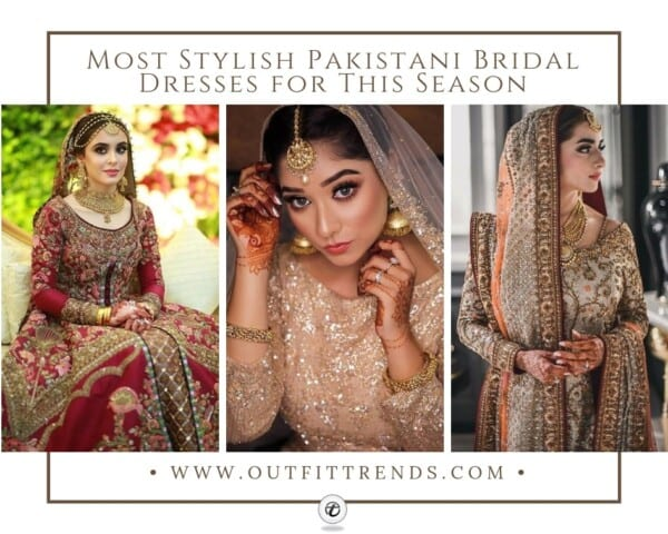 Stylish Pakistani Bridal Dresses (1)